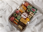 1.50 lb Mix Sweets Silver Tray