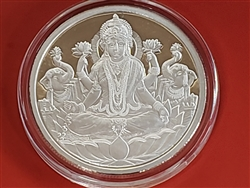 1 Oz Pure Silver 999 Coin - Laxmi